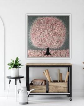 Nicky Chubb, Blossom and Raidrops, Tree Art 2