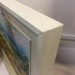 Rupert Aker, Harvest Bales, Original Oil Painting, Textured Paintings, Affordable Art 13