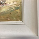 Rupert Aker, Harvest Bales, Original Oil Painting, Textured Paintings, Affordable Art 6