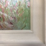 Rupert Aker, Willow Herb, Original Oil Painting, Textured Paintings, Affordable Art 5