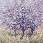 Wild Mirabelle Orchard 80x100cm