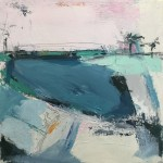 pink sky catherine warren wychwood art original abstract painting