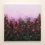 Sophie Berger - wildflower meadow - Oil on canvas - 80 x 80 cm