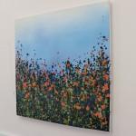 Orange Poppies, Sophie Berger, Oil on Canvas