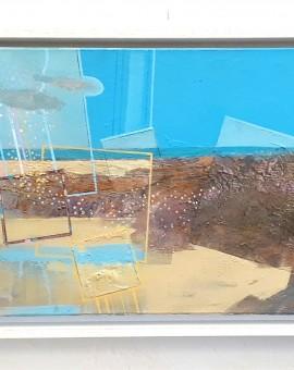 Clark Nicol Summer Shower at Sandymouth Wychwood Art