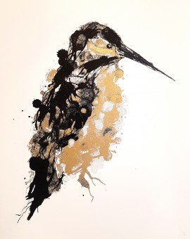 G Dobson Kingfisher gold