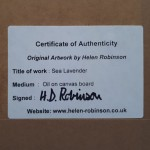 Helen Robinson Sea Lavender Original Seascape Painting (7)