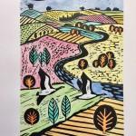 Joanna Padfield Canada Goose Linocut Print 1