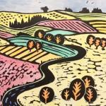 Joanna Padfield Canada Goose Linocut Print 3