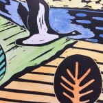 Joanna Padfield Canada Goose Linocut Print 4