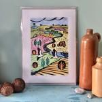 Joanna Padfield Canada Goose Linocut Print 6