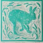 Joanna Padfield Running Hare Print 1