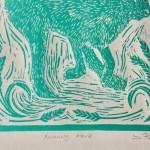 Joanna Padfield Running Hare Print 2