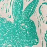 Joanna Padfield Running Hare Print 4