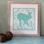 Joanna Padfield Running Hare Print 5