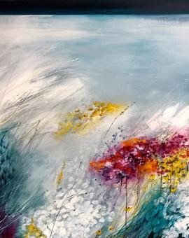 Karen Birchwood 'Land to Sea' Original Painting