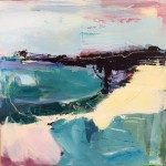 Purple Bay catherine warren wychwood art original abstract