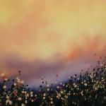 2 Sophie Berger – Go Floral- Oil on canvas – 100 x 100 cm