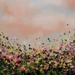 4 Sophie Berger -In Bloom – Oil on canvas – 61 x 61 cm Framed