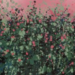 1Sophie Berger – Wild Hedgerows – Oil on canvas – 80 x 80 cm