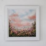 1 Sophie Berger -In Bloom – Oil on canvas – 61 x 61 cm Framed