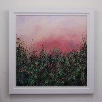 S2ophie Berger – Wild Hedgerows – Oil on canvas – 80 x 80 cm