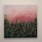 3Sophie Berger – Wild Hedgerows – Oil on canvas – 80 x 80 cm