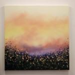 4 Sophie Berger – Go Floral- Oil on canvas – 100 x 100 cm