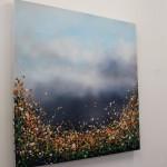 3 Sophie Berger – Distant thunder – Oil on canvas – 80 x 80 cm