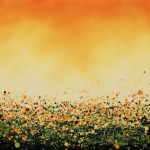 1 Sophie Berger – Rising Up – Oil on canvas – 60 x 60 cm