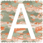 A is For Antelope, 3 colour screen print, image size 35x35cm, paper size 37x38cm, edition of 100, unframed retail price £70