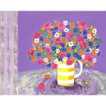Amy Christie 'In Full Bloom' limited edition bright art flower print art