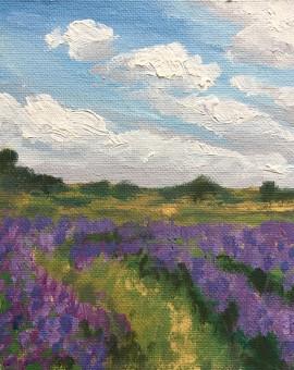 Blue Field Tracks study 1