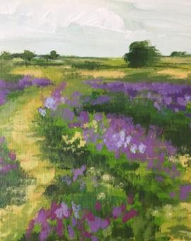 Blue Field Tracks study 2
