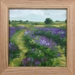 Blue Field Tracks study 2 – Alexandra Buckle