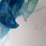 Blue whale, Gavin Dobson, watercolour3