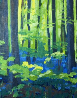 Bluebell Wood study 2