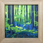 Bluebell Wood study 2 – Alexandra Buckle