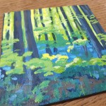 Bluebell Wood study 2 close up