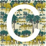 C is for Camel, 3 colour screen print, image size 35x35cm, paper size 37x38cm, edition of 100, unframed retail price £70