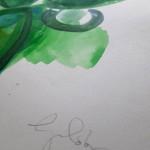 Cactus plant, Gavin Dobson, Watercolour4