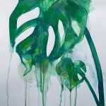 Cheeseplant, Gavin Dobson, watercolour
