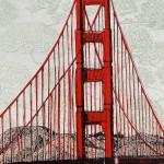 Clare Halifax, Leafin San Francisco Bay, Close up 5