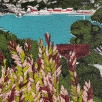 Clare Halifax, Leafing San Francisco Bay detail 2