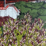 Clare Halifax, Leafing San Francisco Close up 3