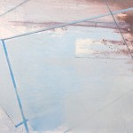 Clark Nicol Evening Light at Sandymouth Abstract Art Detail 4