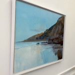 Clark Nicol Evening Light at Sandymouth Abstract Art Side view