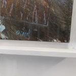 Clark Nicol Evening Light at Sandymouth Abstract Art Signature