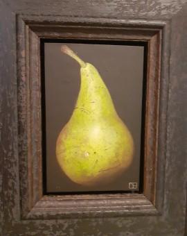Dani Humberstone, Pear, Original oil painting