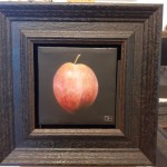 Dani Humberstone, Plum. On easel, Original oil painting